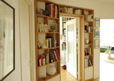 Agencement bibliothèque sur mesure