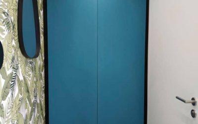 Placard sur mesure au couleur du bleu turquoise