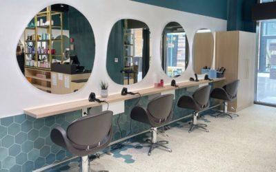 Réalisation d'un salon de coiffure, Stalter Coiffeur Shopping Promenade Vendenheim